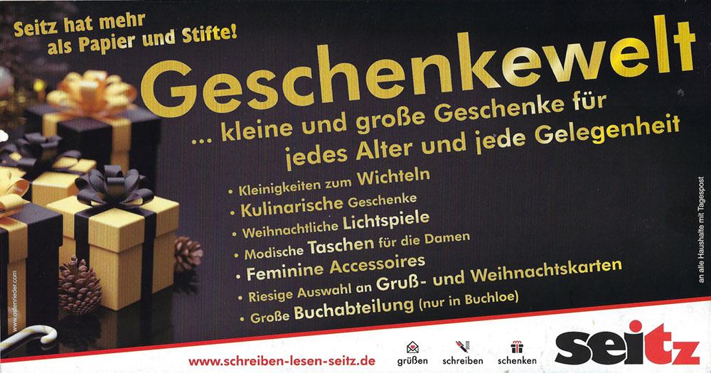 Geschenkewelt2020 - Aktion