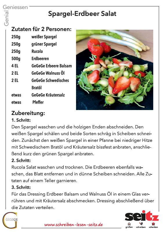 Köstlichkeiten von Genial Genießen bei Seitz